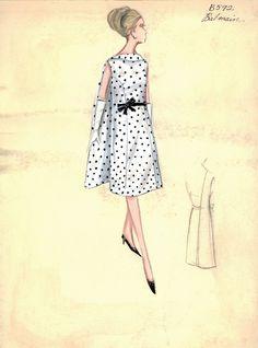 Bergdorf Goodman Archives. Coctail & Evening Dresses 1950-69