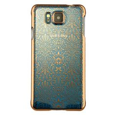 Coque Transparente Samsung Galaxy Alpha - Fleurs Gold Samsung Galaxy Alpha, Iphone Cases, Gold, Products, Tecnologia, Beauty, Accessories, Iphone Case, Gadget