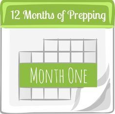 Ease into preparedness with 12 months of prepping. 12 Months of Prepping: Month One | Backdoor Survival