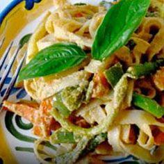 Peanut-Free Tahini Vegetable Noodle Stir Fry