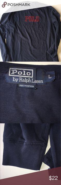 Vintage Men's Polo RL long sleeve tee Size L Vintage Polo by Ralph Lauren Long sleeve tee in good condition. Size Large Polo by Ralph Lauren Shirts Tees - Long Sleeve
