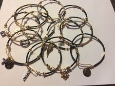 West Point and Army themed bracelets by Ann Morrison. See facebook page WP Items For Donation