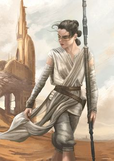 "art-awakens: "" Rey """