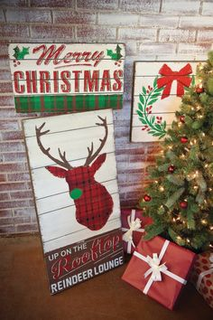 Christmas themed sign for the bar on the patio...love it. I want to diy one.