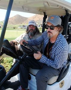 Tommy Flanagan and Mark Boone Jr...take me for a spin, Flanagan!! ;)
