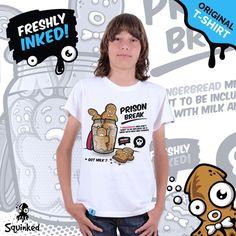 *Squinked T-shirt for boys! *Tricou Squinked pentru baieti! Escape Plan, Prison Break, The Originals, T Shirt, Shopping, Tops, Women, Fashion, Supreme T Shirt