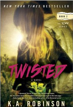 Rapid Fire Interview & Signed Paperback giveaway - Twisted by K.A. Robinson