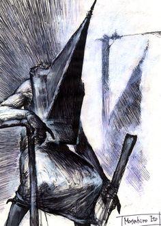 Silent Hill 2 Concept Art - Silent Hill Memories