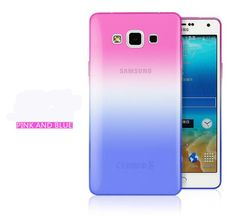 Phone Cases For Samsung Galaxy 2014 A3 A5 A7 2016 J5 J7 S6 S7 Edge Transparent Gradient Color Design Case Soft TPU Silicon