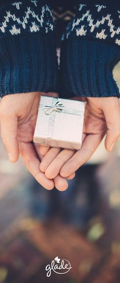 A tiny box. A humble bow. Eager, outstretched hands. There's not a price tag to be found on the greatest gift off all. Unwrap a feeling that can't be found on any store's shelf with our limited edition Winter Collection. Feel Joy. Feel Glade.