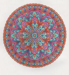 More Mystical Mandalas 011 with pencils