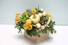 vegetable arrangements - Jen Hubbell