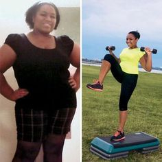 "Ashley Mitchell: 90 pounds lost; ""When I'm at a restaurant, I have half my meal wrapped to take home with me before I even start eating."" #aftergymfoodsuccessstory"