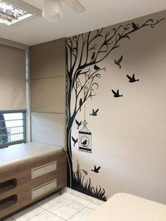 "Acquire fantastic recommendations on ""metal tree wall art hobby lobby"". They are actually accessible for you on our web site. Simple Wall Paintings, Creative Wall Painting, Wall Painting Decor, Creative Walls, Room Wall Decor, Diy Wall Decor, Home Decor, Interior Wall Paintings, Wall Painting For Bedroom"