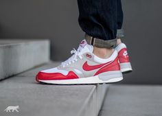 e4717e5f22c Nike Air Odyssey (White   University Red - Neutral Grey - Sail)