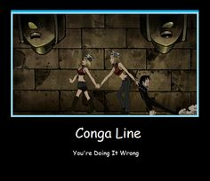 Conga Line by ~arisaxkureno on deviantART
