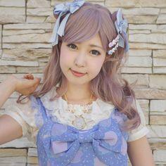 〜 Gloomy Mermaid 〜 jumper skirt #KOKOkim #Kimura U #Fastion #harajuku #Lolita #kawaii #Pink #Lavender #Blouse #jumper skirt #Jacket #One-Piece #Ladies