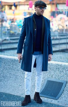 Street Style Gallery: Pitti Uomo 91 | FashionBeans---------------> i am crazy about this look