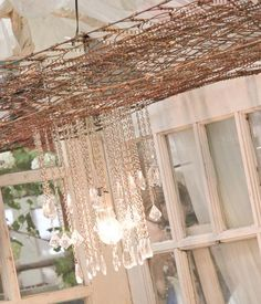 Repurposing Rusty Old Box Springs: Spraypaint And Use As Lighting, Or Add  Hooks And
