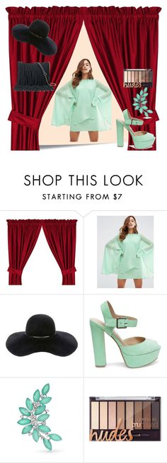 """""""Untitled #138"""" by domla ❤ liked on Polyvore featuring Post-It, ASOS, Eugenia Kim, Steve Madden, Bling Jewelry and SONOMA Goods for Life"""
