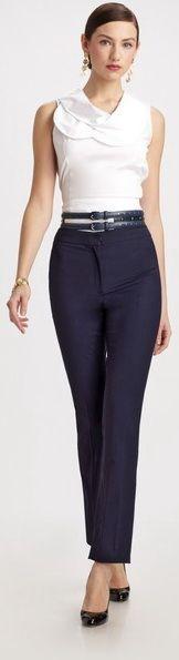 OSCAR DE LA RENTA  Slim-fit Pants