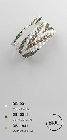 peyote bracelet pattern peyote pattern odd count stitch - My Recommendations Peyote Patterns, Loom Patterns, Bracelet Patterns, Beading Patterns, Bracelet Wrap, Bead Loom Bracelets, Seed Bead Earrings, Beaded Earrings, Tutorials