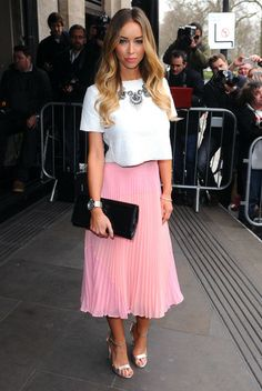 Lauren Pope: Arrivals at the TRIC Awards