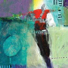 Robert Burridge: Abstract Acrylic Painting and Collage, June 24-28, 2013
