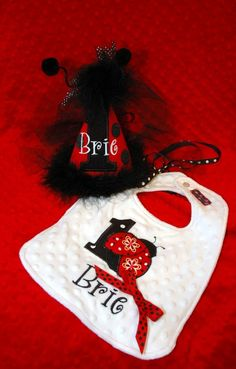 1st Birthday Party Ladybug Princess Hat and by sunshinedaydream4u, $46.00
