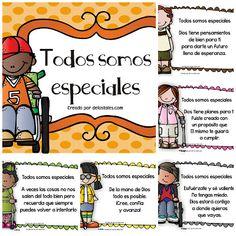 ¡Todos somos especiales!