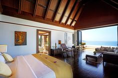 VILLA I PHUKET making it a truly relaxing and luxurious villa that offers serenity and enjoyment wherever you may be in the villa. http://www.theluxurylisting.com/villa-i-phuket/