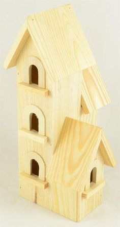 Bird House Kits Make Great Bird Houses Arts And Crafts House, Arts And Crafts Projects, Home Projects, Bird House Plans, Bird House Kits, Bird Houses Painted, Bird Houses Diy, Birdhouse Designs, Birdhouse Ideas