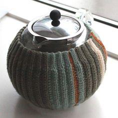 Opskrift på hæklet tevarmer | Lutter Idyl