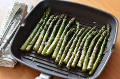 Recept: Gegrilde groene asperges • Betty's Kitchen