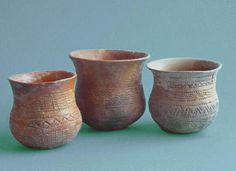 From the Beaker folk, found from (what is now) Southern Spain to Budapest.
