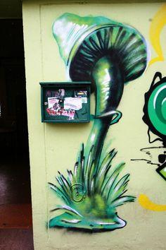Saint Ouen - rue de l'alliance - street art