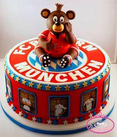 Bayern Munchen cake.