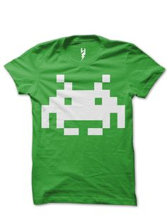 Space Invader from XTEAS  For Deadmau5, has the Space Invader tattoo on his neck - Deadmau5 Music Tribute T-Shirt