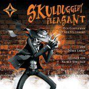 {Hörbuch-Rezension} Skulduggery Pleasant 01: Der Gentleman mit der Feuerhand von Derek Landy