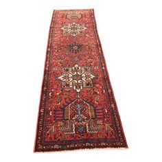 "Image of Vintage Persian Karajeh Runner - 2'8"" x 8'11"""
