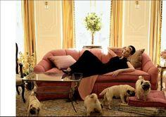 Linda. Ph. Steven Meisel/Vogue Italia/June 2008.
