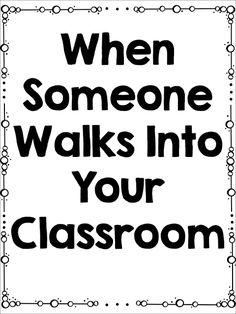 When Someone Walks I