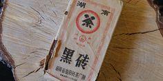 Dark Brick Tea from 1993 Golden Flower, Flower Tea, Paper Shopping Bag, Dark