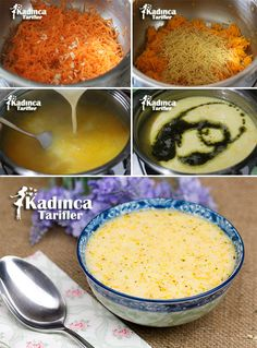 Terbiyeli Havuç Çorbası Tarifi, Nasıl Yapılır Terbiyeli H… – Sebze yemekleri – Las recetas más prácticas y fáciles Red Lentil Recipes, Soup Recipes, Vegetarian Recipes, Bread Dumplings, Healthy Pesto, Food Vocabulary, Carrot Soup, Tasty, Yummy Food