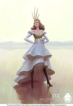 Oz - Glinda Celebration Dress by michaelkutsche.deviantart.com on @deviantART