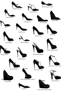 Fashion infographic & data visualisation 22 Fashion Infographics You Need In Your Life Infographic Description Can you tell the difference between a slingback and a mule? Look Fashion, Fashion Shoes, Fashion Beauty, Womens Fashion, Fashion Design, Fashion Clothes, Girl Fashion, Fashion Infographic, Mode Shoes