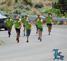 July 4, 2016: Relay runners followed a 45-mile course from the Lakeview pool to the Adel Store for the third annual Mile High Striders Freedom Relay, the fastest team completing the course in 5 hours 3 minutes. For more read the July 6, 2016 Lake County Examiner.