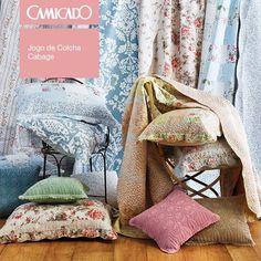 cama; casa; mantas; cobertores; colchas; quarto; Camicado; aconchego