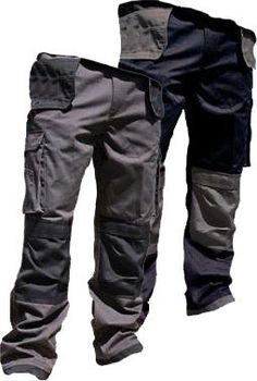 A superbly versatile work trouser that combines style, practicality and durability. Features multiple pockets including twin foldaway holster pockets and front cargo pockets to keep your essential tools close to hand. Heavyweight Teflon stain resistant polycotton with durable impact fabric on the high wear areas in a smart contrasting colour ensures the trousers will stand up to daily rigours, whatever the job at hand. The ideal trouser for all tradesmen.