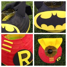 Batman and Robin Inspired Super Hero Paper Lantern by adingkaki